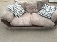 ***Dfs fabric/suede sofa very nice *** Can deliver