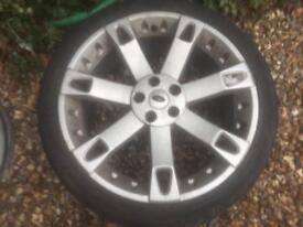 Range Rover alloy wheel Overfinch