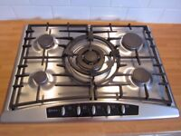 Neff T2766N1 Luxury 70cm wide 5 Burner Gas Hob with Wok Burner