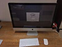 """Apple iMac Mid-2011 27"""" 2.7GHz i5 Quad Core 1TB HDD 4GB RAM HD6770M"""