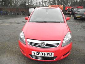 Vauxhall Zafira 1.7 CDTi ecoFLEX 16v Design 5dr (nav) £5,495 2013 (63 reg), MPV