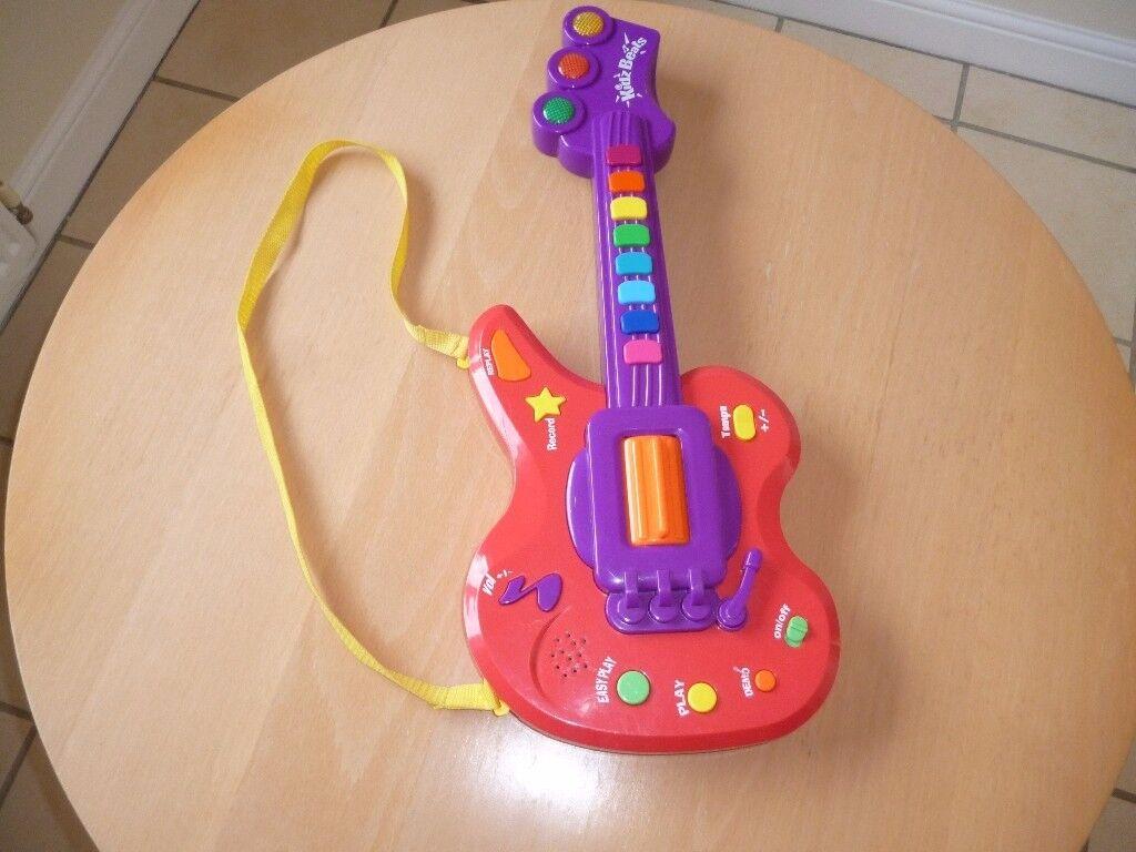 Kidz beats guitar