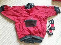 Medium Palm Canoe / Kayak Jacket & Small Crewsaver Gloves