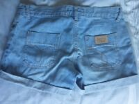 See by Chloe women's denim shorts - size 27 (fits small)