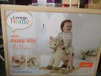WOODEN ROCKING HORSE - GEORGE HOME
