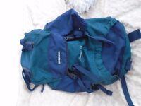 Blue and Green Rucksack Eurohike
