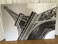 Huge Black and White wall art 2m by 1 m