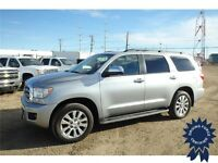 2014 Toyota Sequoia Limited 4WD SUV - Seats 8 People - 20,008 KM