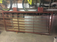 Steel Security Gate - Almost Brand New