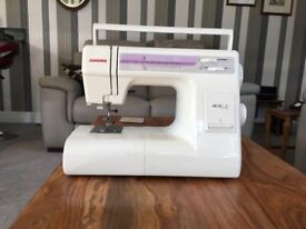 SEWING MACINE. Janome 4618 LE unused sewing macine