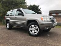 Jeep Grand Cherokee Diesel Automatic Long Mot Low Mileage Drives Well High Spec 4x4 !!!