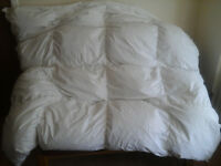 M&S double DUVET Duck Feather & Down 10.5 Tog