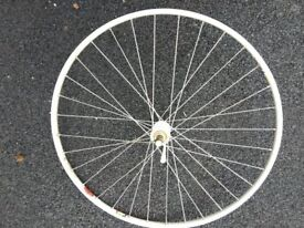 Front and rear cycle wheels for tubless tyres - Unused!