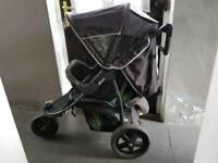 Baby push chair pram