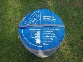 Sprayway challenger 350 twin sleeping bag.
