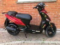 Kymco agility 50cc scooter moped 2010 12 months mot