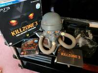Killzone 3 helghast collectors edition ps3