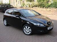 EXCELLENT EXAMPLE!!! 2009 SEAT LEON 2.0 TDI STYLANCE 5dr, FSH, LONG MOT, WARRANTY
