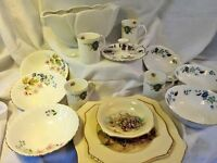 Various China Items. Some vintage.