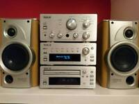 Teac stereo amplifier/dab radio/cd and speakers