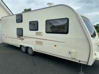 A great 6 berth motor mover fixed bunks solor panel
