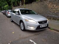 Ford Mondeo 2.0 Tdci Zetec 140Bhp 6 Speed Manual 57-reg 135.000 Mileage With Full Vosa History