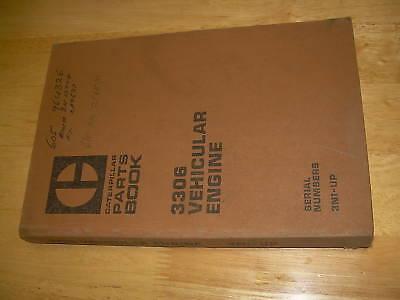 Caterpillar Cat 3306 Truck Machine Parts Manual Book Sn 3n1
