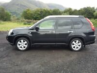 NISSA XTRAIL EX X DCI 2LITRE TDIESEL NEW SHAPE. IMMACULATE