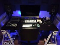 £400 PCM: Subletting my Sound proofed and Acoustically treated Music studio in East London (Share)