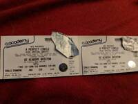 2 x tickets for A Perfect Circle O2 Brixton concert 14th June