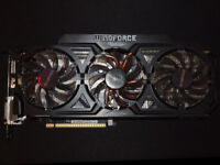 Gigabyte GTX 780Ti 3GB graphics card in perfect working order and superb condition.