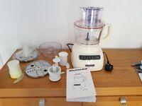Kitchen Aid food processor.