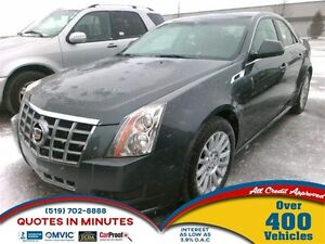 2012 Cadillac CTS BASE | AWD | LEATHER | HEATED SEATS | PANORAMA