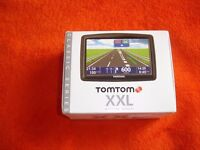 """TOMTOM XXL 5"""" touch screean UK and EUROPE 42 COUNTRIES gps sat nav"""