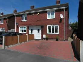 2 BEDROOM SEMI-DETACHED HOUSE FOR SALE IN WREXHAM