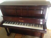 Crane & Sons Upright Piano