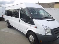 2009 2010 ford transit 17 seater minibuses 6 in stock ex gov with all the certs from £5750