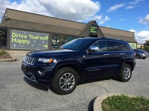 2015 Jeep Grand Cherokee Overland - DIESEL / NAVI / SUNROOF