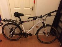 Gents 27 speed rockrider road bike front suspension great condition £250ono offers considered