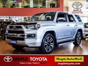 2018 Toyota 4Runner Limited *DEMO* SUNROOF, LEATHER, NAVIGATION