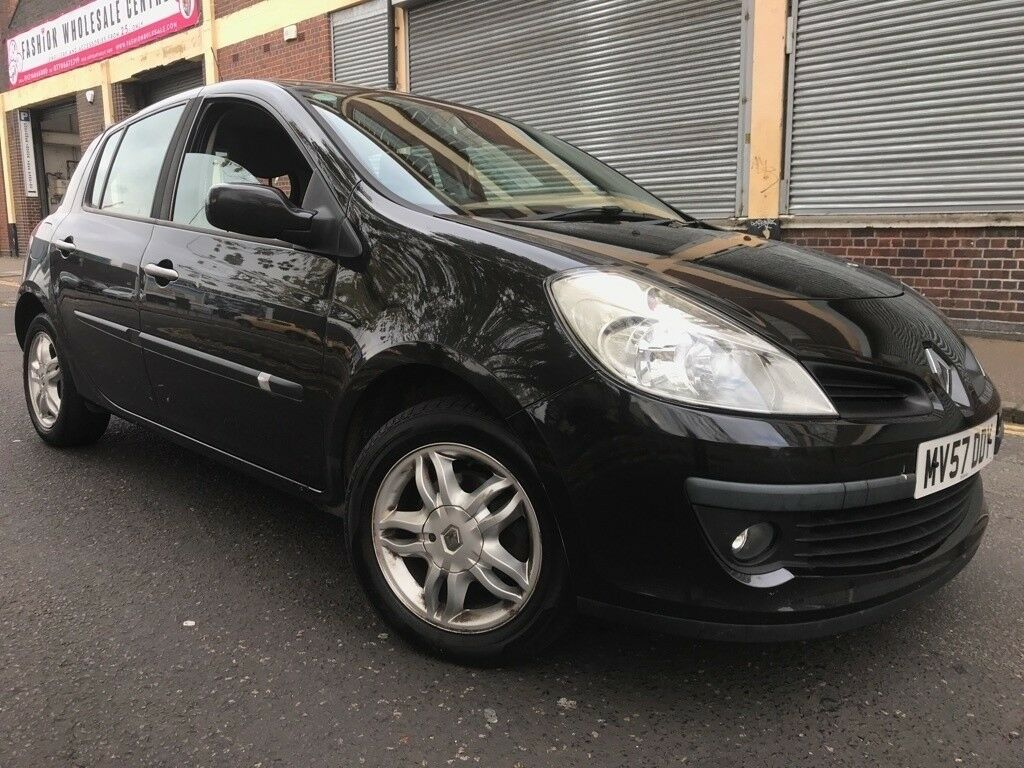 renault clio 2008 1 5 dci dynamique 5 door 2 owners 3 months warranty bargain in birmingham. Black Bedroom Furniture Sets. Home Design Ideas