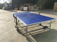 Blue Kettler Stockholm GT Outdoor Table Tennis Table *ASSEMBLED* (used) COLLECTION ONLY