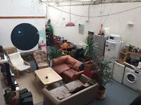 Double room in converted Warehouse