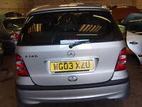 !!!!L@@K REDUCED!!! Mercedes Benz A140 Classic 1.4 2003 Petrol For Sale