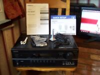 Onkyo TX-SR307 AV Receiver. For collection only