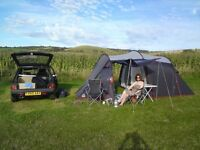 Tent eurohike.
