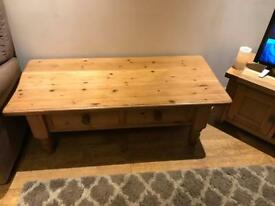 Solid pine handmade waxed furniture