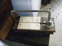 antique cheese slicer