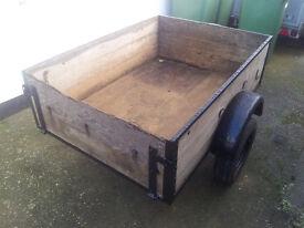 2 wheel trailer