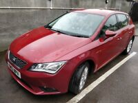 Seat Leon SE 1.6 5dr TDI in Fantastic Condition + TomTom GO 5100 Sat Nav - Metallic (Montsant) Red